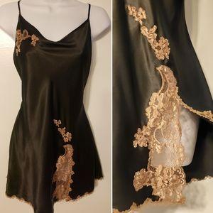 Vintage Victorias Secret nightie lace lingerie LG
